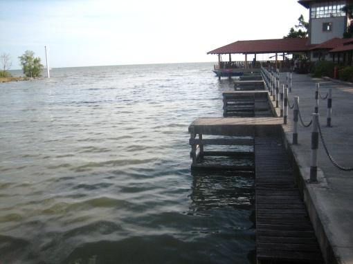 D'Muara Marine Resort di Sungai Besar, tempat aku berkursus